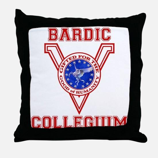 Bardic Collegium Throw Pillow