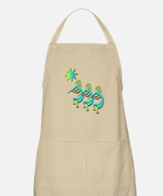 Three Kokopelli #104 BBQ Apron