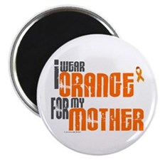 "I Wear Orange For My Mother 6 2.25"" Magnet (10 pac"