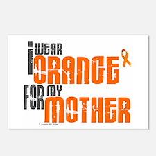 I Wear Orange For My Mother 6 Postcards (Package o