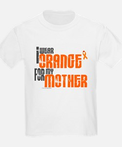 I Wear Orange For My Mother 6 T-Shirt