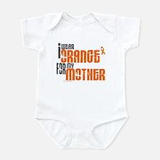I Wear Orange For My Mother 6 Infant Bodysuit