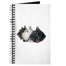 Scottish Terrier Trio Journal