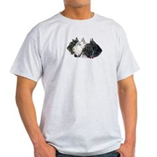 Scottish Terrier Trio T-Shirt