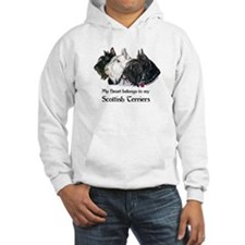 Scottish Terrier Trio Hoodie