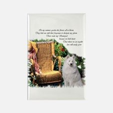 Samoyed Art Rectangle Magnet (10 pack)