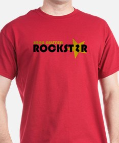 Jane Austen Rockstar Gold T-Shirt