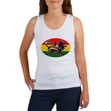 Reggae Rastafarian Women's Tank Top