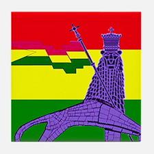 Reggae Rastafarian Tile Coaster