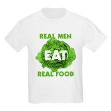 Real Men Eat Real Food T-Shirt