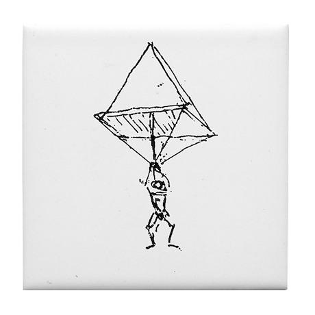 da Vinci Tile Coaster