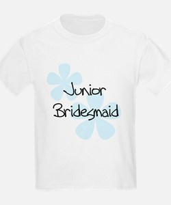 Jr. Bridesmaid Blue Women's T-Shirt