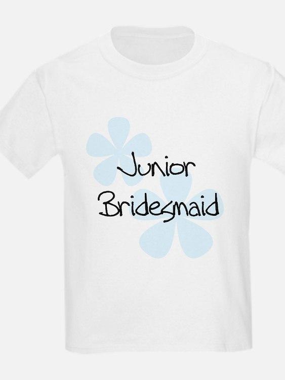 Jr. Bridesmaid Blue Women's T-Shirt