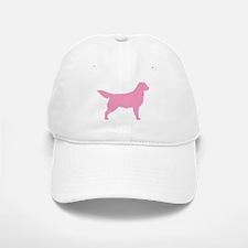 Pink Golden Retriever Baseball Baseball Cap
