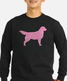Pink Golden Retriever T