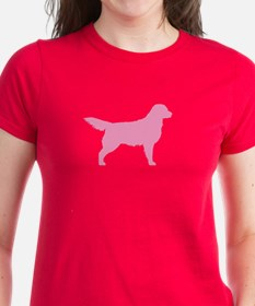 Pink Golden Retriever Tee