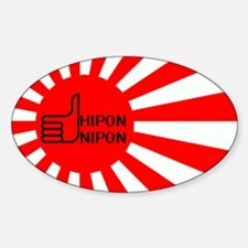 Hipon Nippon Logo Oval Decal