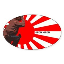 Photo Man Oval Decal