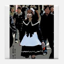 Maid in Japan Tile Coaster
