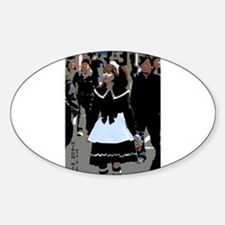 Maid in Japan Oval Decal