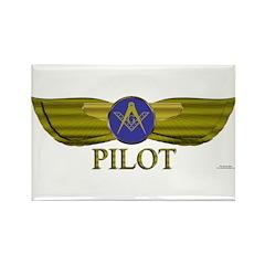 Mason Pilot Rectangle Magnet