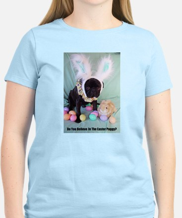 Easter Puggy Women's Light T-Shirt