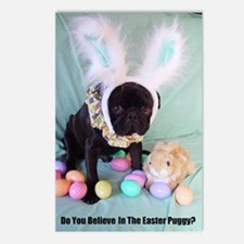 Easter Puggy Postcards (Package of 8)