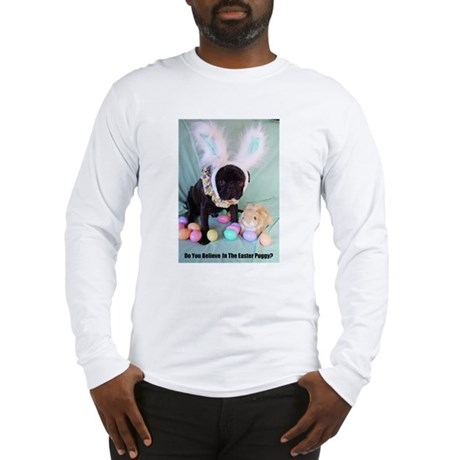 Easter Puggy Long Sleeve T-Shirt