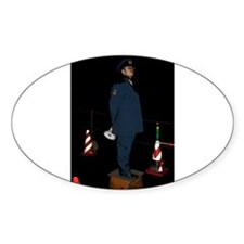 Safety and Security Oval Decal