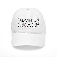 Badminton Coach Baseball Cap