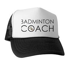 Badminton Coach Trucker Hat