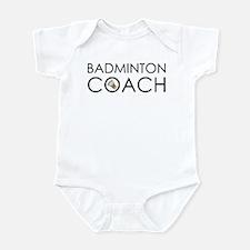 Badminton Coach Infant Bodysuit