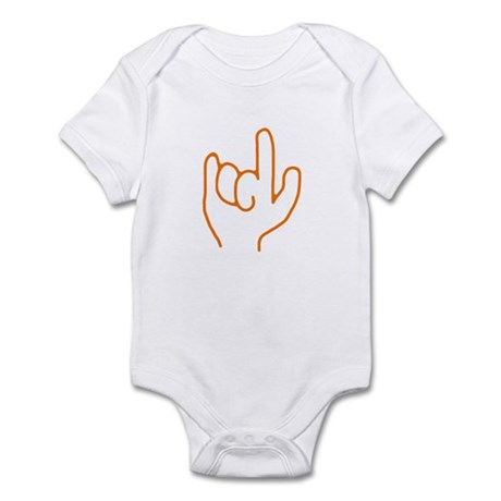 I Love You ASL Infant Bodysuit