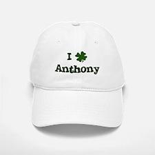 I Shamrock Anthony Baseball Baseball Cap