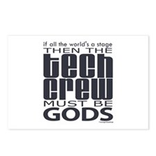 Tech Crew Gods Postcards (Package of 8)