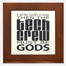 Tech Crew Gods Framed Tile