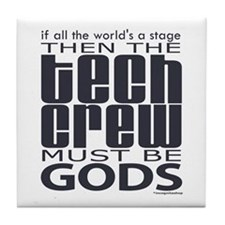 Tech Crew Gods Tile Coaster