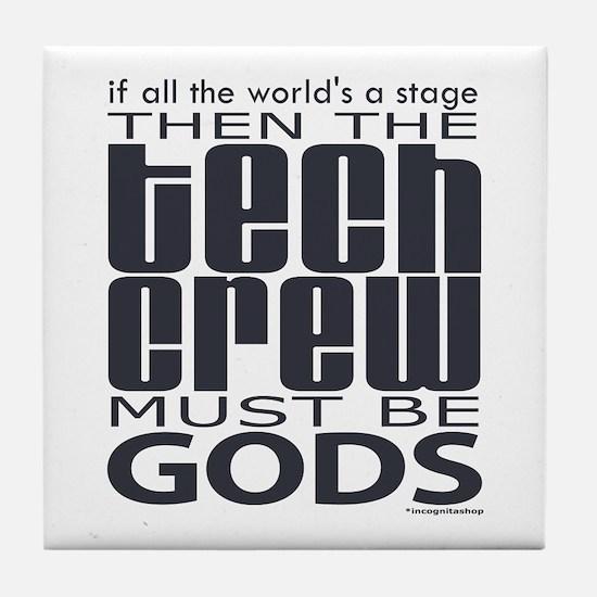 Tech Crew Gods Tile Coaster