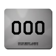 Alpha Zero Mousepad