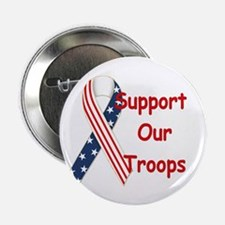 """Support our Troops! 2.25"""" Button"""