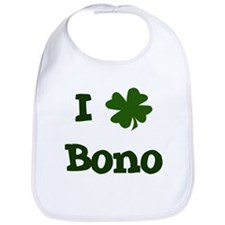I Shamrock Bono Bib