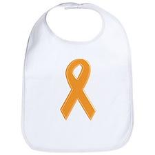 Orange Awareness Ribbon Bib