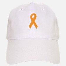 Orange Aware Ribbon Baseball Baseball Cap