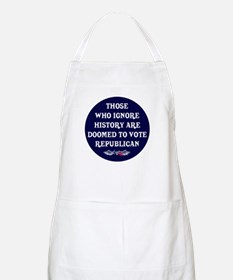 IGNORE HISTORY VOTE REPUBLICA BBQ Apron