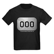 Alpha Zero Kids Black T-Shirt