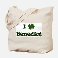 I Shamrock Benedict Tote Bag
