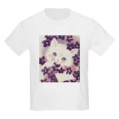 Lavender Kitten T-Shirt