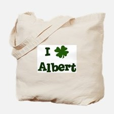 I Shamrock Albert Tote Bag