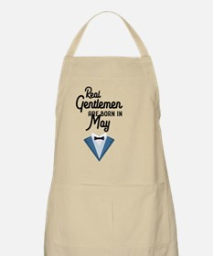 Real Gentlemen are born in May Cu73a Light Apron