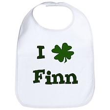 I Shamrock Finn Bib